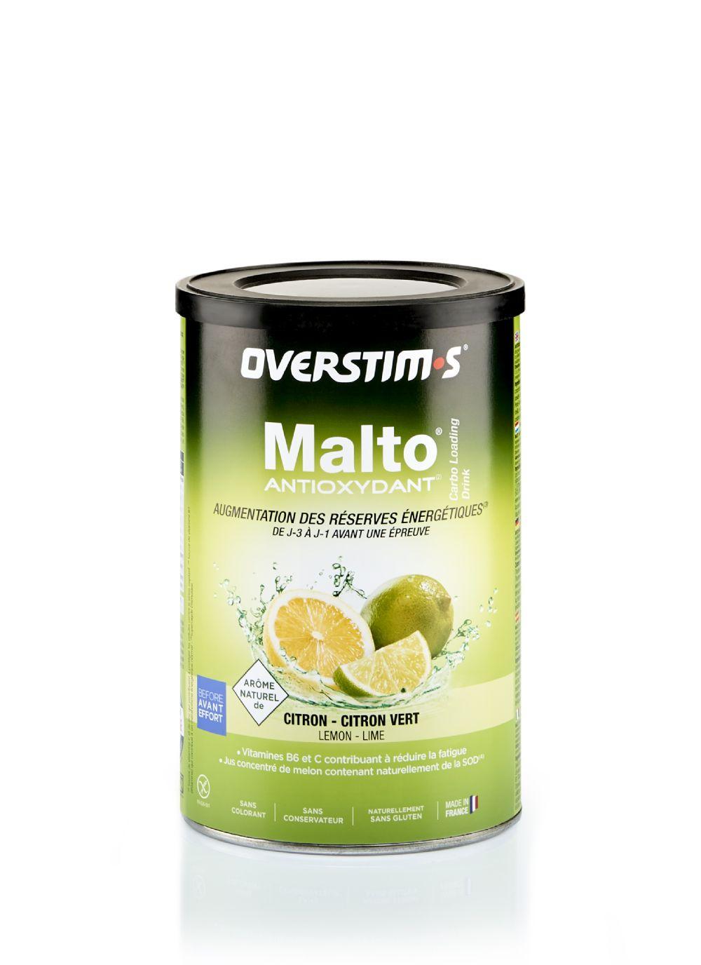 MALTO ANTIOXYDANT LIMÓN 500gr