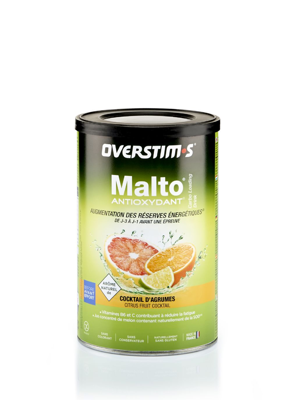 MALTO ANTIOXYDANT CÍTRICOS 500gr