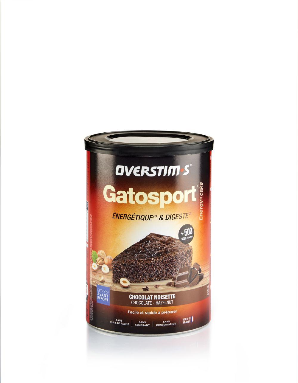 GATOSPORT CHOCOLATE AVELLANAS 400gr