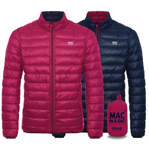 POLAR DOWN LADIES JACKET REVERSIBLE