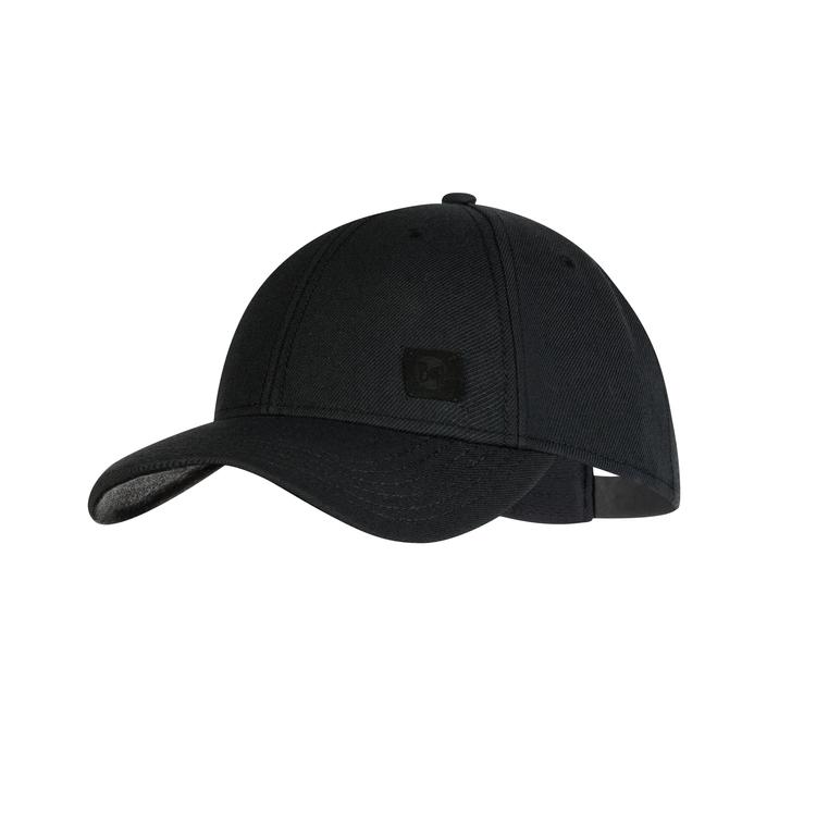 BASEBALL CAP SOLID BLACK