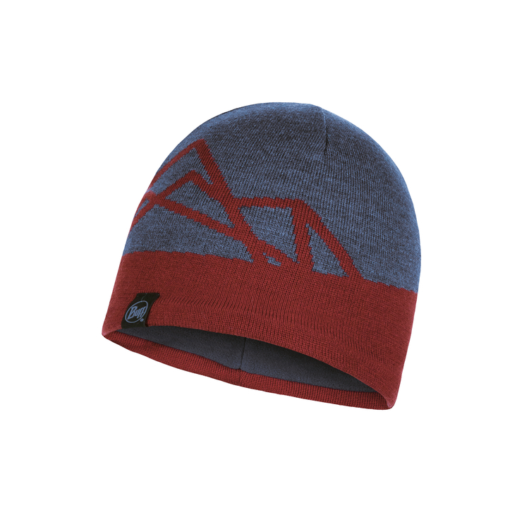 KNITTED AND POLAR HAT YOST NAVY