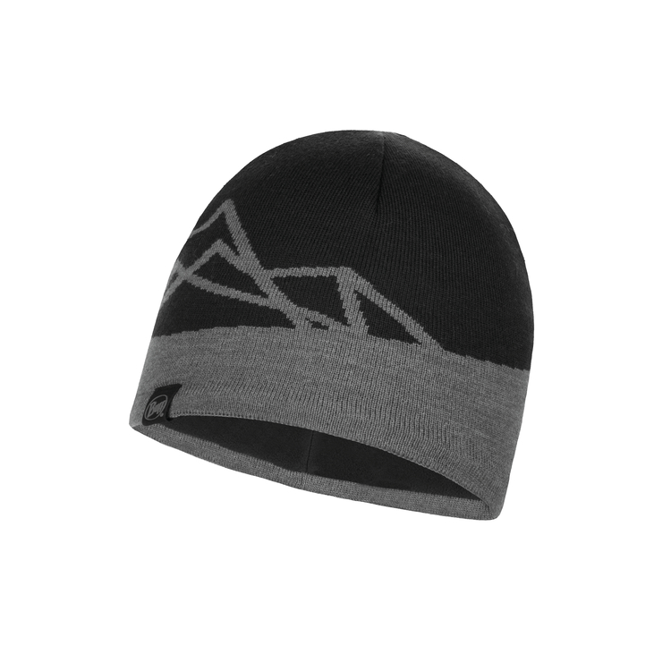 KNITTED AND POLAR HAT YOST BLACK