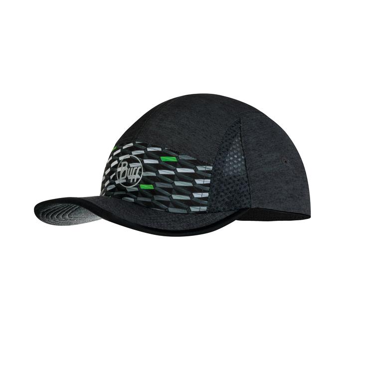 RUN CAP R-GEOTRIK BLACK