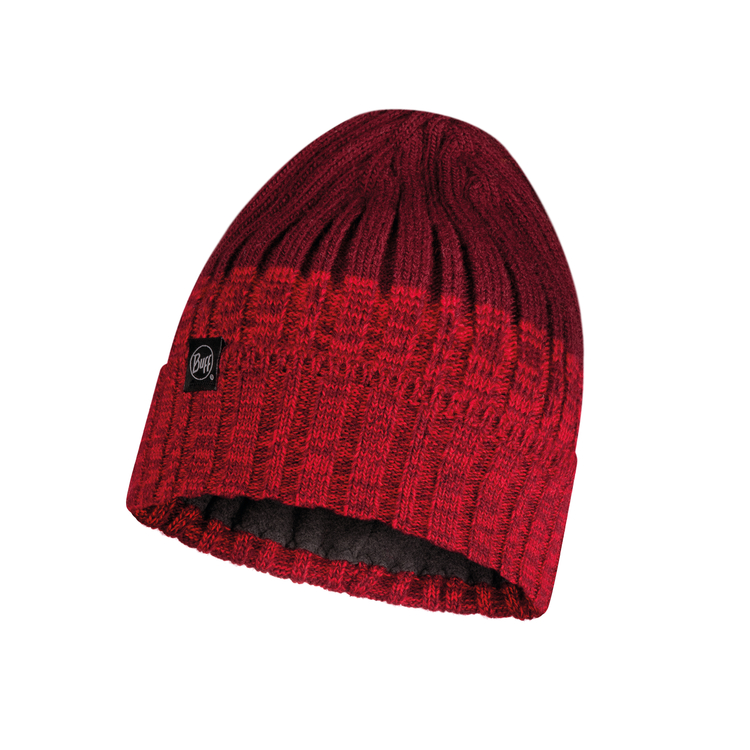 KNITTED AND POLAR HAT IGOR MAROON