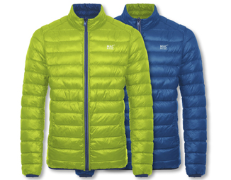 POLAR DOWN JACKET REVERSIBLE