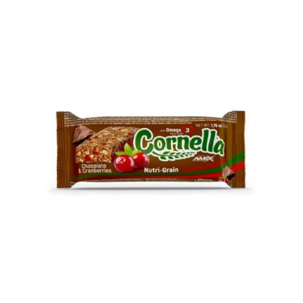 CORNELLA MUESLI BAR CHOCO CRANBERRIES