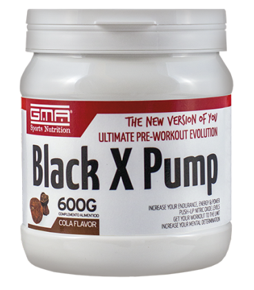 BLACK X PUMP 600gr COLA