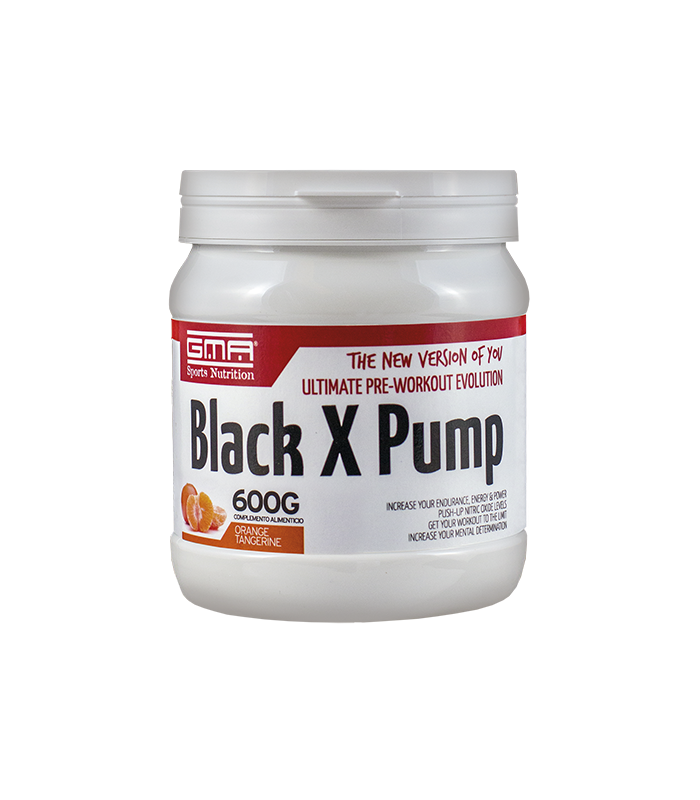 BLACK X PUMP 600gr NARANJA