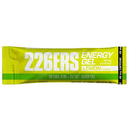 ENERGY GEL BIO LIMÓN 40gr